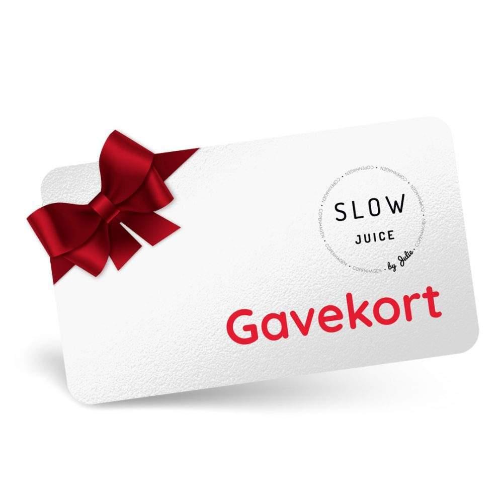 Slowjuice Copenhagen gavekort