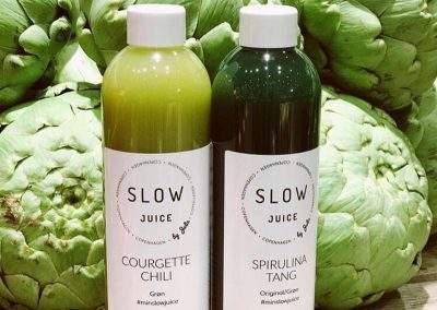 Grøn juice fra Slowjuice Copenhagen