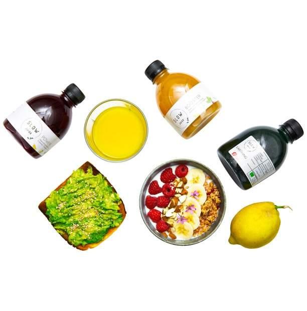 Juicer og mad
