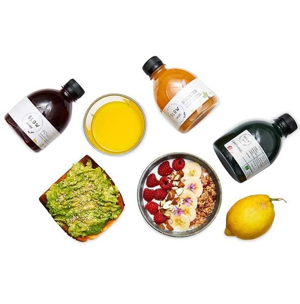 Slowjuice med mad