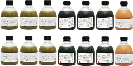 groen Slowjuice 3 dage