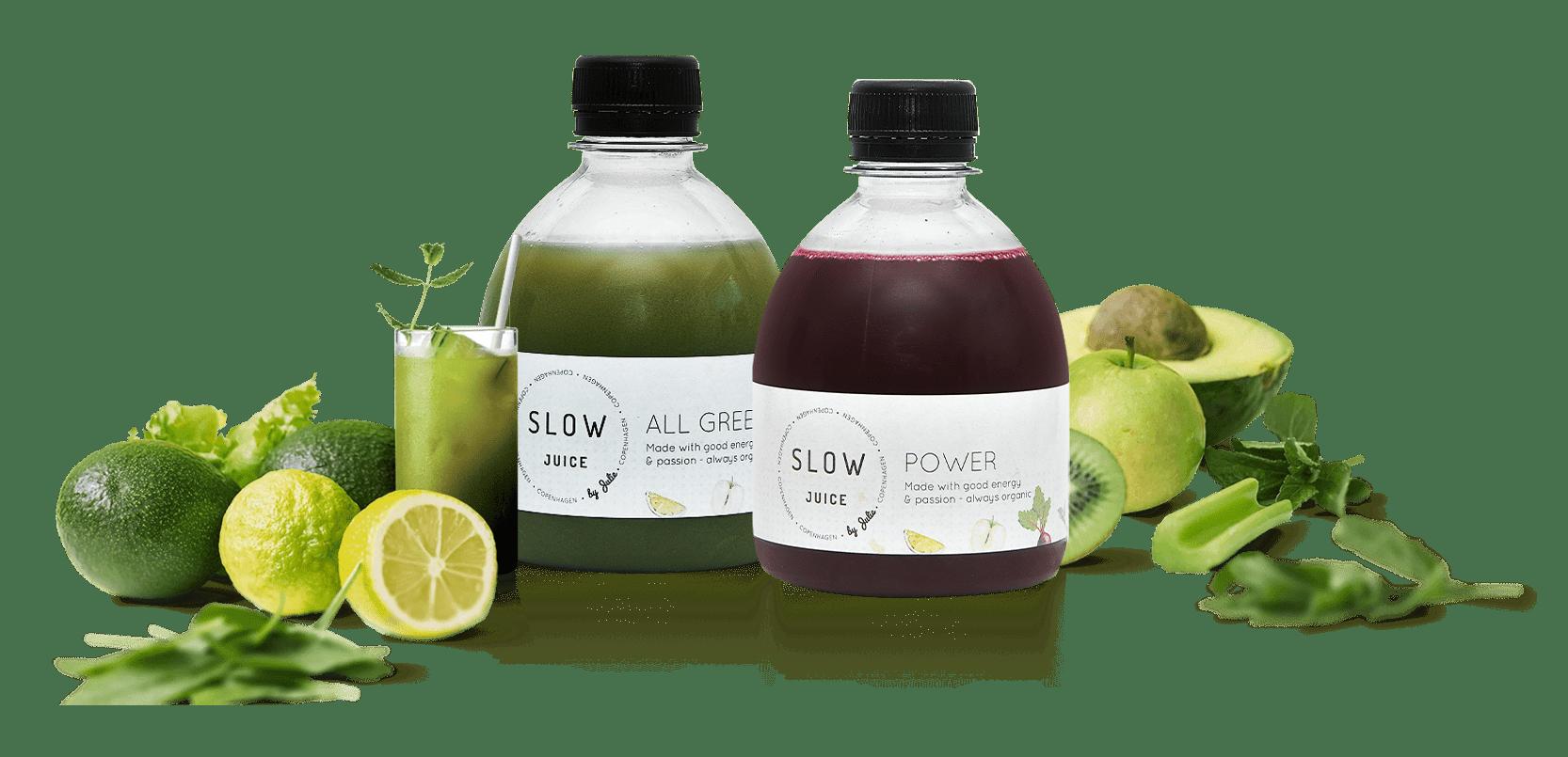 Økologiske juicekurer